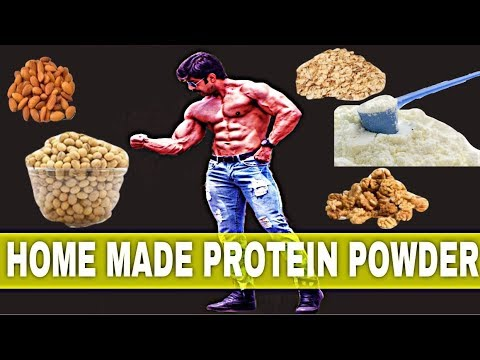 HOME MADE PROTEIN POWDER| HOW TO MAKE PROTEIN POWDER AT HOME| LOW BUDGET PROTEIN POWDER