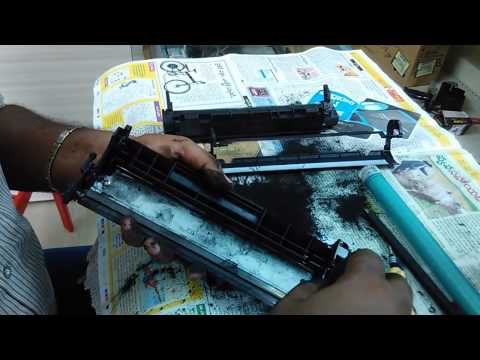 How to Refill HP 12a / canon 303 toner  Cartridge (Telugu) n- Tips & Tricks