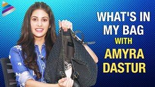 What's In My Bag With Amyra Dastur | Amyra Dastur Funny Interview | Telugu FilmNagar