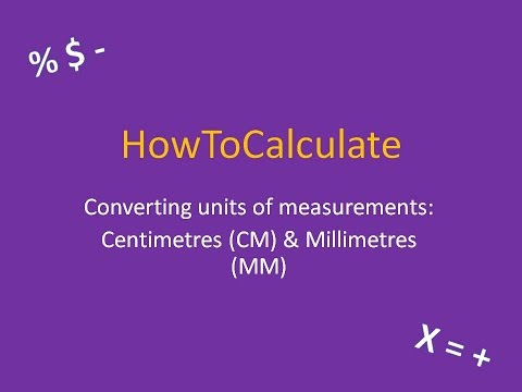 How to Convert Between Centimeters (CM) and Millimeters (MM)