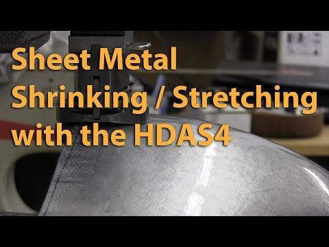 Sheet Metal Shrinking & Stretching