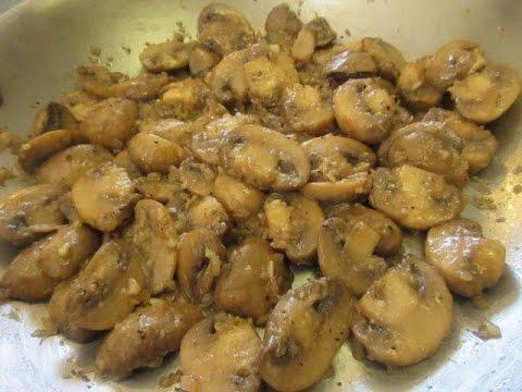 Sauteed Mushrooms How To Make Sauteed Mushrooms Recipe