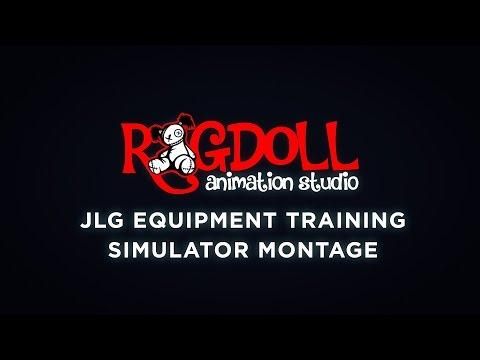 JLG Equipment Training Simulator 2015 Montage