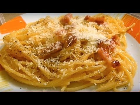 Pasta Carbonara Recipe Italian Food #carbonara