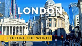 🇬🇧 LONDON Bus Ride - Route 11 - Fulham to Liverpool Street, England UK - 4K Ultra HD 60fps