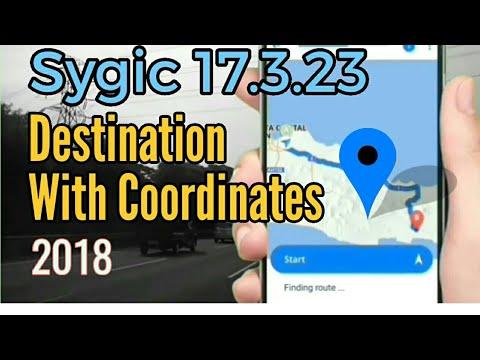 Sygic Destination with Coordinates | POI 2018 Version 17.3.23
