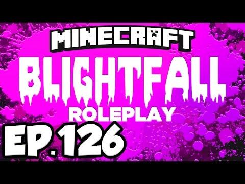 Blightfall: Minecraft Modded Adventure Ep.126 - BITUMEN, PINK SLIME & LASER DRILL! (Modded Roleplay)