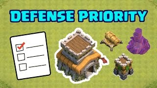 TH8 Defense Upgrade Priority List 2017 | Which Defenses to Upgrade First | Clash of Clans
