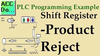 SIMATIC STEP7 TIA PORTAL - How to porgram a simple Shift Register