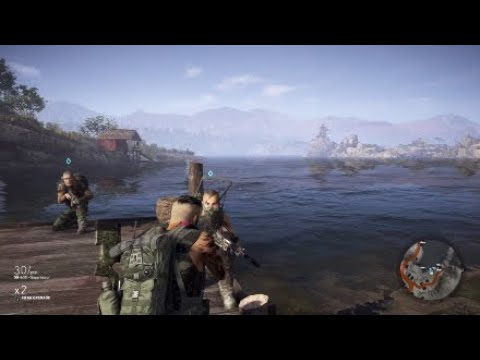 Tom Clancy's Ghost Recon Wildlands Funny Moments: Gaining Intel, Stealth Failures, Chicken Violence