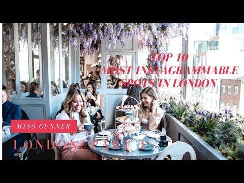 TOP 10 MOST INSTAGRAMMABLE SPOTS IN LONDON| MISS GUNNER