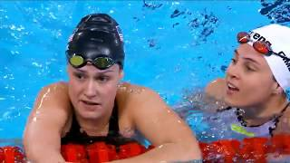 Natalie Sims Wins Gold In S9 100m Freestyle  | Parapan American Games Lima 2019