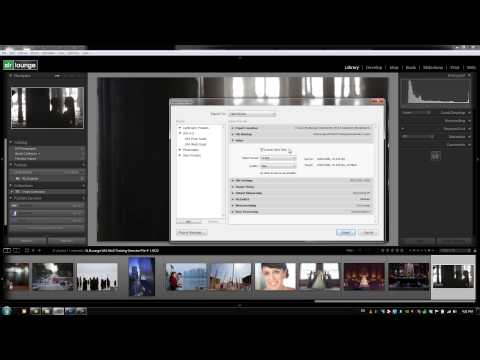 Exporting Video Files - From the Lightroom 4 A - Z Training DVD