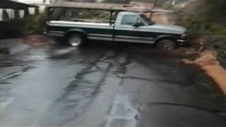 Outrunning a Landslide
