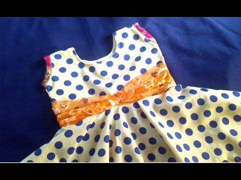 Frock stitching,frock dresses for girls, gown stitching steps very simple tailoring tutorial