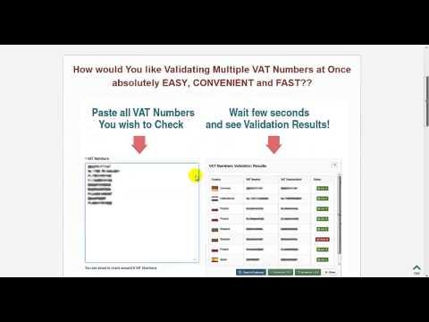 VIES VAT Number Validator