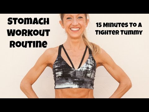 STRONG BODY Stomach Series! 15 Minute Total Core Workout.