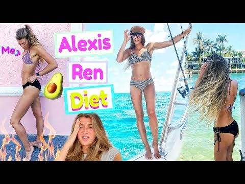 Trying Alexis Ren's Diet & Workouts For a Week!