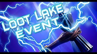 24HR FORTNITE EVENT HAPPENING NOW - LOOT LAKE EVENT ACTIVATED - FLYING RUNE LOCATION AND COUNTDOWN