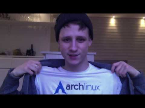WHAT IS GOING ON? + My Arch Linux Shirt