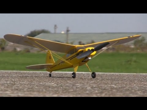 Flyzone Micro Super Cub Review - Part 1, Intro and Flight