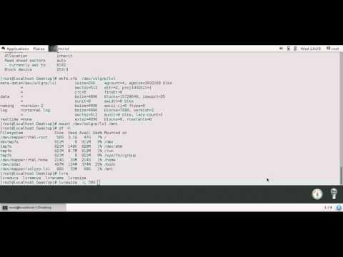 How to configure LVM   in RHEL7.1