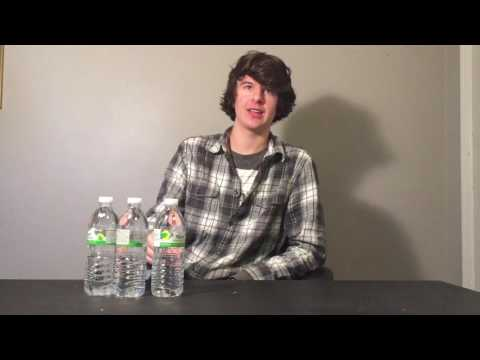 Water bottle drinking challenge 3 in a row!!