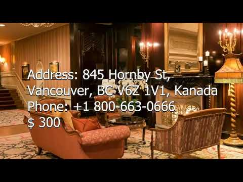 Hoteles En Vancouver - Top Hotels (with Prices) - USA Travel News