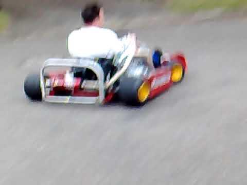 250cc Shifter Kart - Homemade Custom Drift Kart