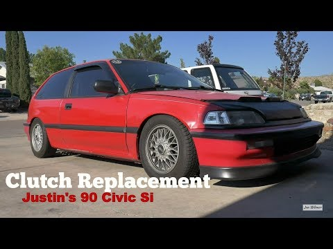 1990 Civic Si Clutch Replacement - Troubleshooting Engine Problems - Exedy
