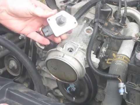 How to clean a Mass Air Flow Sensor - GM 3800 V6