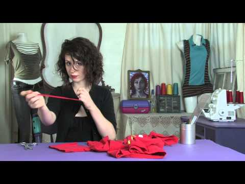 How to Cut T-Shirt Sleeves : Shirt Modifications