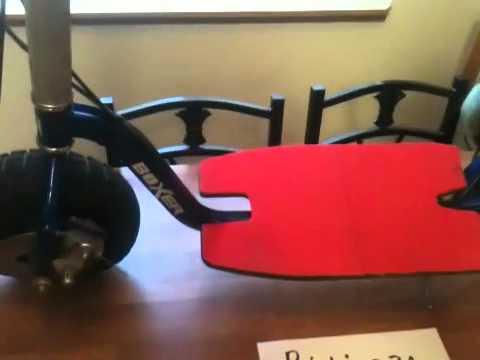 Santa Cruz 52cc boxer fs-2 gas scooter for sale