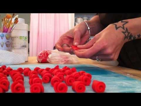 Rolled Rosebuds