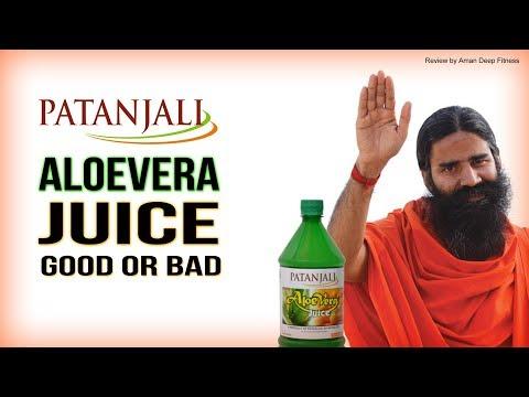 Baba Ramdev's Patanjali Aloevera Juice Review   Good or Bad