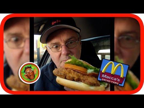 McDonalds Gourmet Classic Chicken Burger / Sandwich Review