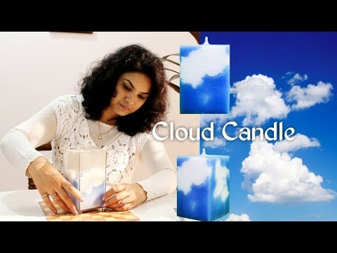 Cloud Candle Making Tutorial | Designer Candle | Diy Candle