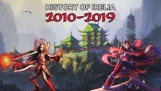 Complete History Of Irelia: The Nerf Queen