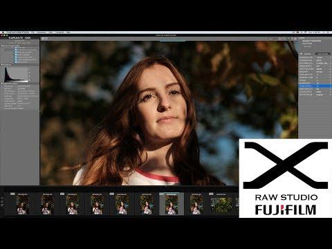 Fujifilm X Raw Studio - Converting RAF to JPG