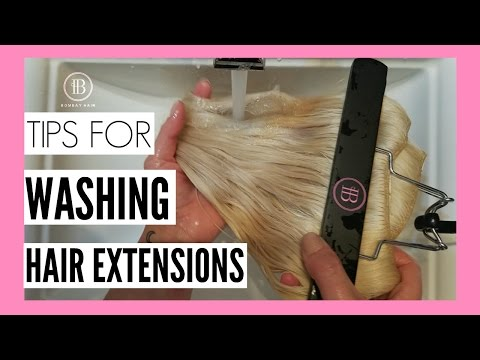 Tips for Washing your Bombay Hair Extensions