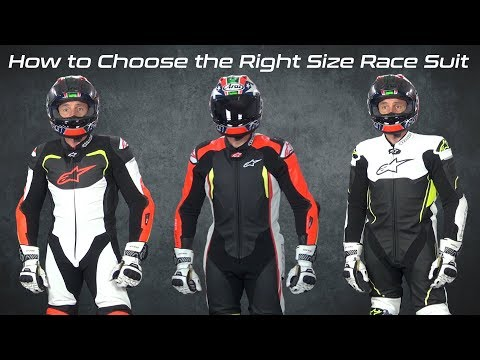 How to Choose the Right Size Race Suit | Sportbiketrackgear.com