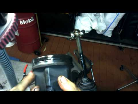 MINI CV Shaft Removal How to DIY: BMTroubleU