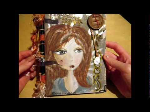How to Make a Recycled Piano Hinge Art Journal