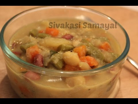 Veg Kurma(வெஜ் குருமா)Sivakasi Samayal / Recipe - 49