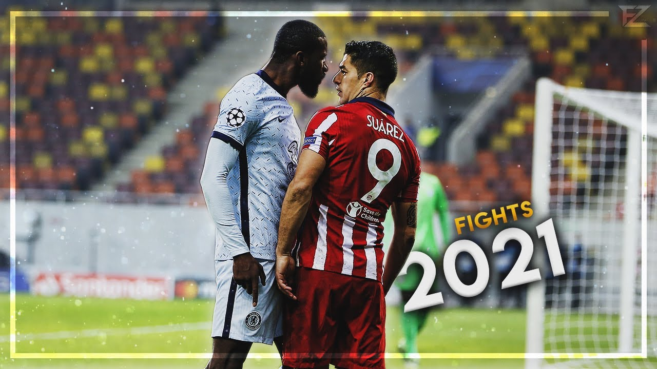 Furious & Angry Moments in Football 2021 #1 | HD