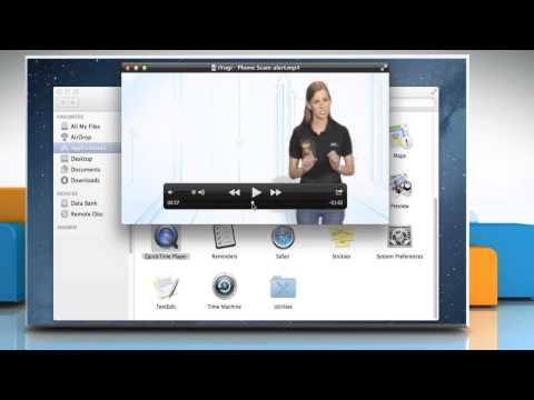 How to rotate or flip a movie clip in QuickTime® Player 10.x