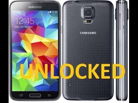 SIM Unlock Sprint Samsung Galaxy S5 SM-G900P For All GSM Carriers!