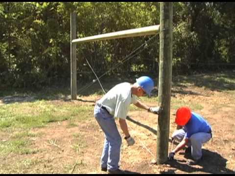 Wildlife Fence Construction – Part 4