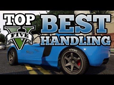 GTA V Top 5 Best Handling Cars (Entity, Monroe, Cheetah, Coil Voltic, Coquette)