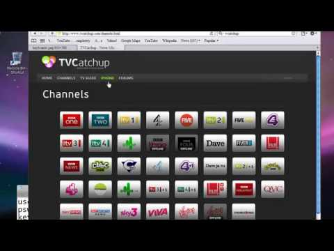 How to watch free UK Channels on PC,PS3,MAC,iPhone,iPod